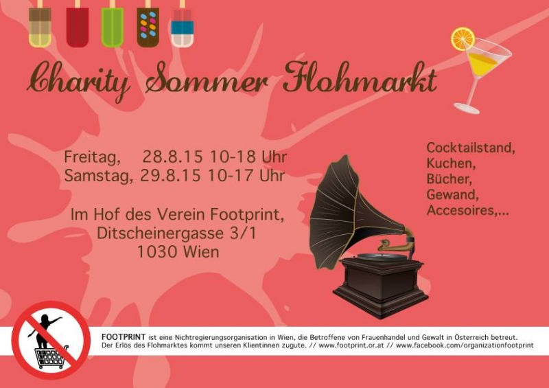 Footprint_Charity Flohmarkt_Sommer_2015